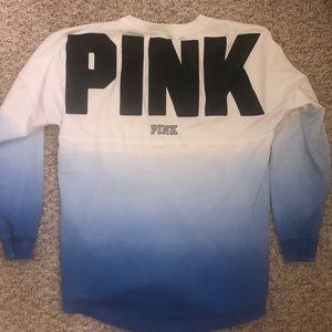 Pink tie dye long sleeve
